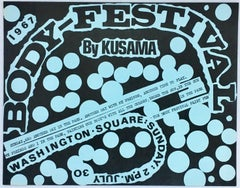 Body-Festival by Kusama, Washington Square Park (announcement)