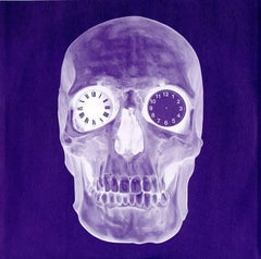 Damien Hirst skull record cover art