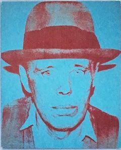 Warhol Joseph Beuys announcement