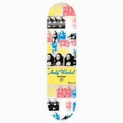 Warhol Mona Lisa Skateboard Deck