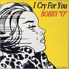 Rare original Roy Lichtenstein vinyl record art