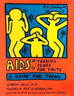 Aids: Trading Fears for Facts (Keith Haring prints)