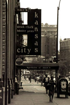 Max's Kansas City photograph New York, 1975 (Manhattan photography)