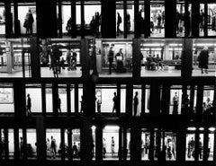NYC Subway Voyeur photograph (NY street photography)