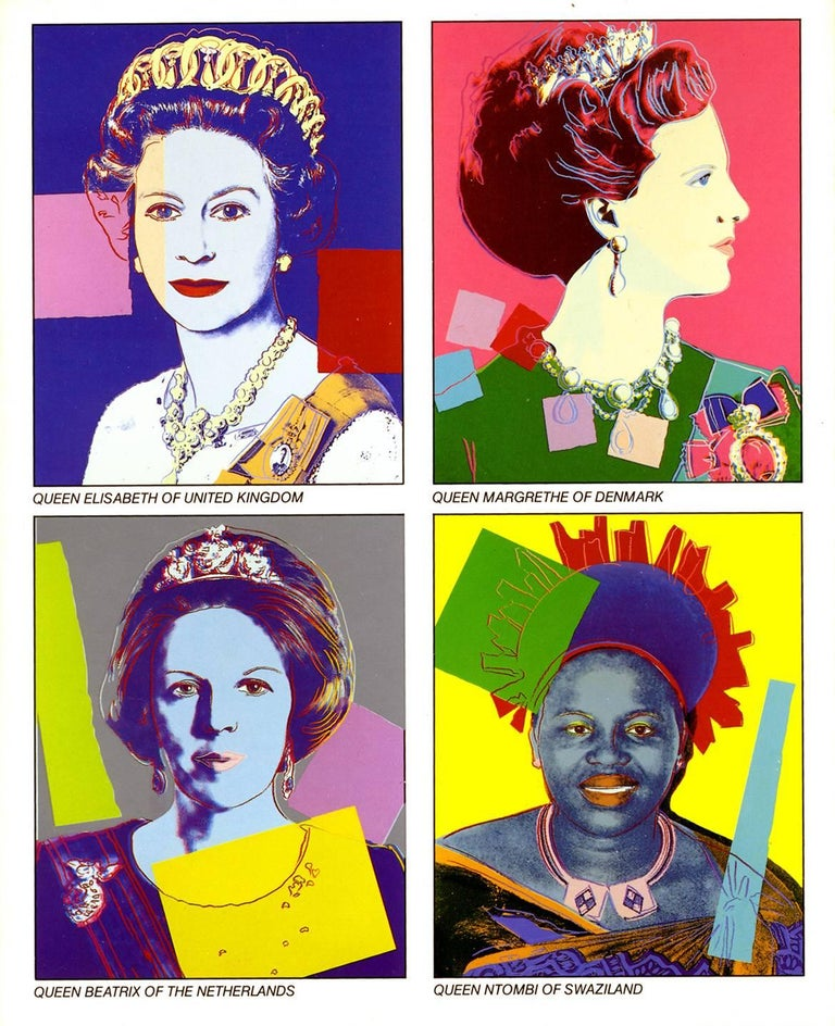Warhol Reigning Queens (Castelli announcement)  - Art by (after) Andy Warhol