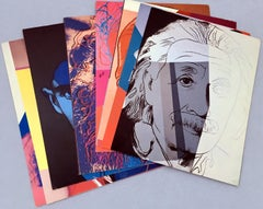 Andy Warhol ten Portraits of Jews of the 20th Century  (portfolio of ten cards)