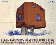 Claes Oldenburg at Sidney Janis (exhibition poster)