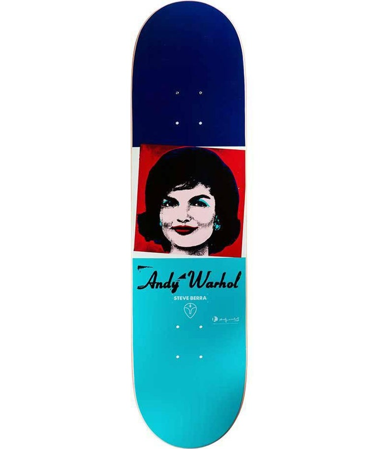 Andy Warhol Jackie Skateboard Deck (Warhol skateboard)  - Pop Art Art by (after) Andy Warhol