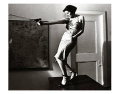 Girl With A Gun, Patti Astor East Village photo 1977 (The Foreigner)