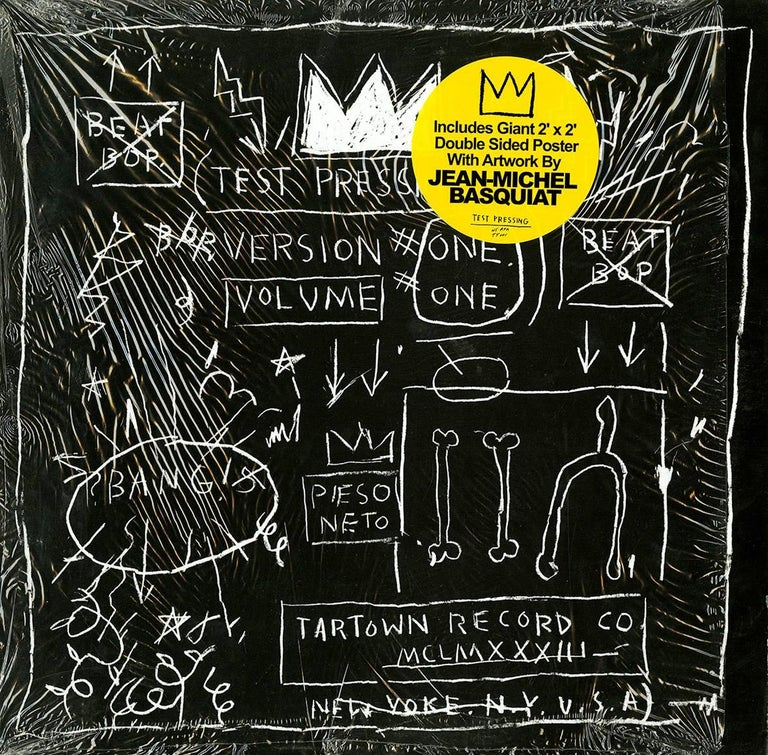 Basquiat Beat Bop record art and poster