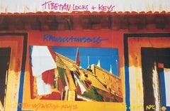 Robert Rauschenberg Tibetan Keys and Locks 1986 (Castelli poster)