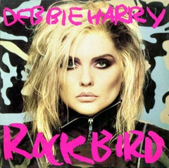 Andy Warhol Debbie Harry album cover art 1986