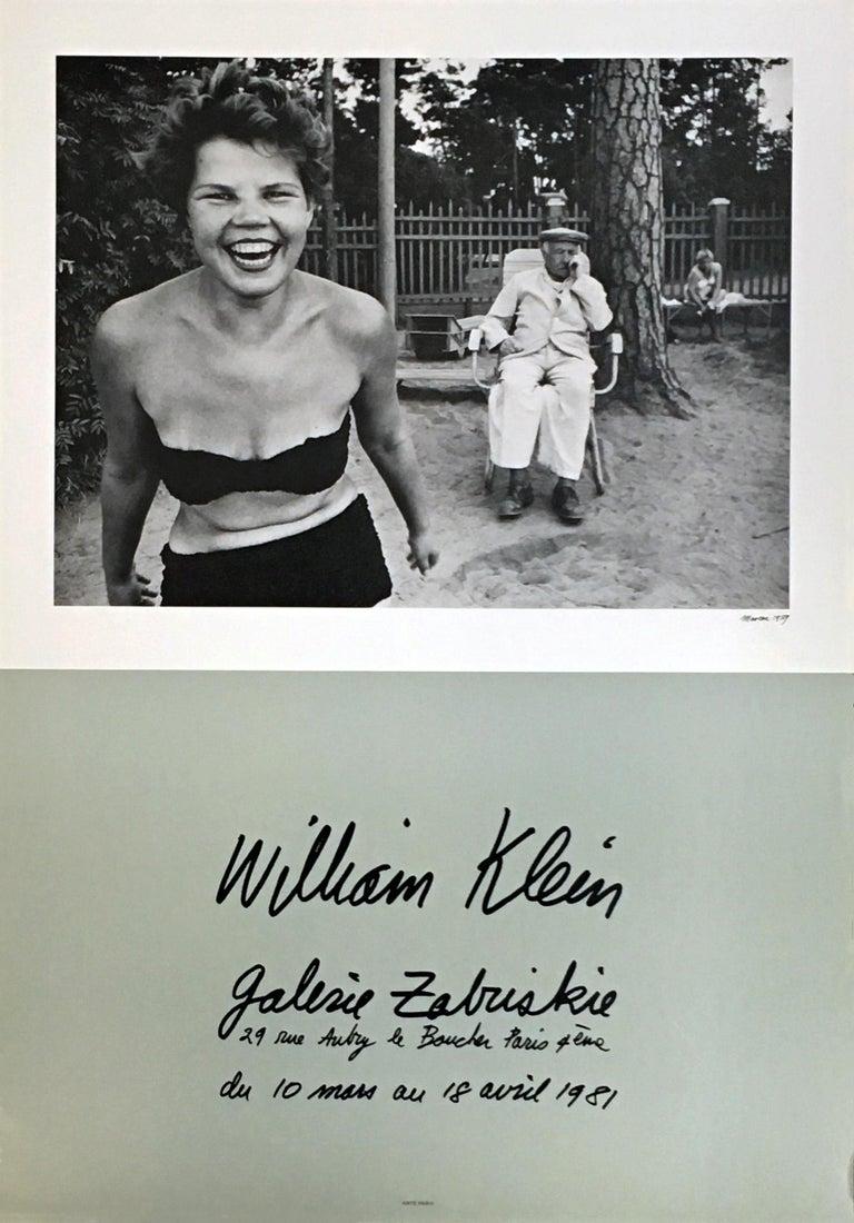 William Klein Bikini, Moscow exhibit poster (Paris, 1981)