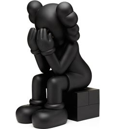 KAWS 2013 Passing Through Companion (Black Kaws Companion)
