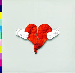 KAWS Record Art 2008 (Kanye West 808s and Heartbreak 1st pressing)