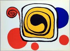 Alexander Calder lithograph Derrière le miroir (Calder prints)