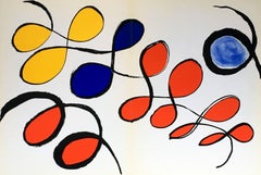 Alexander Calder Lithograph, Derriere le Miroir