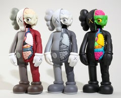 KAWS Companions 2016 (set of 3 KAWS Flayed companions)
