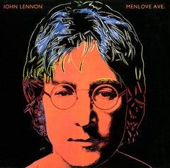Andy Warhol John Lennon Vinyl Record Art