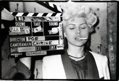 Debbie Harry on the set of The Foreigner East Village, 1977 (Blondie)