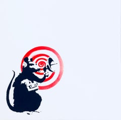 Banksy Radar Rat album record art