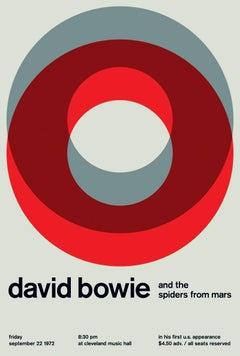 David Bowie Design Print