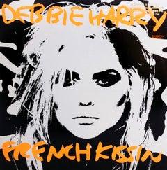 Original Andy Warhol Record Cover Art (Warhol Debbie Harry)