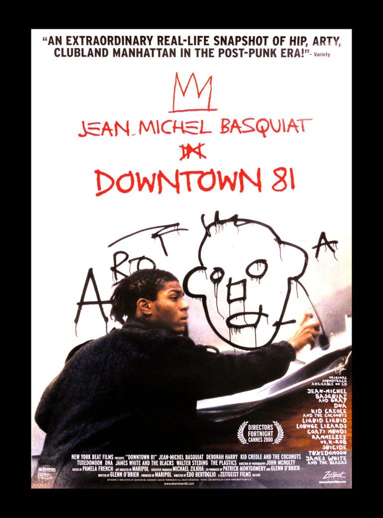 after Jean-Michel Basquiat Figurative Print - Basquiat Downtown 81 film poster