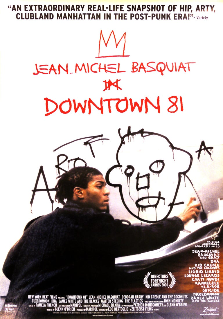 Basquiat Downtown 81 film poster  - Print by after Jean-Michel Basquiat