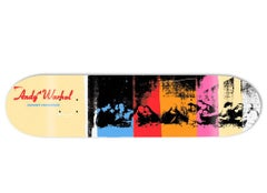 Andy Warhol Last Supper Skateboard Deck