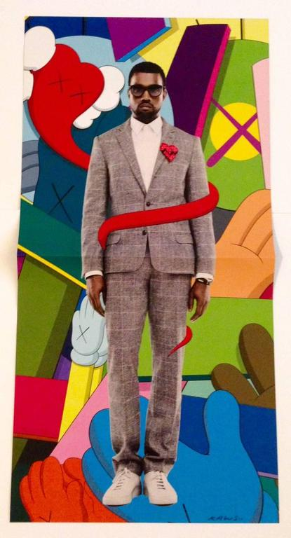Kaws Kanye West 808s And Heartbreak Print At 1stdibs
