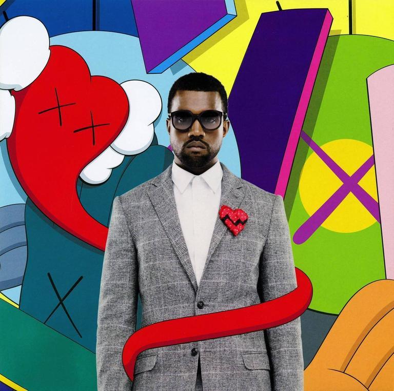 Kanye West 808s & Heartbreak  - Print by KAWS