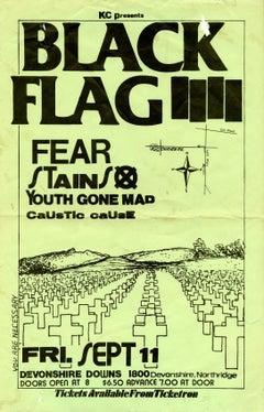 Raymond Pettibon, Black Flag (Pettibon prints)