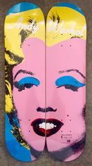 Marilyn, A Set of Two Skate Decks