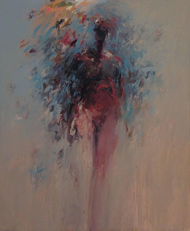 Charles Eckart Figurative Painting - Large Standing Figure