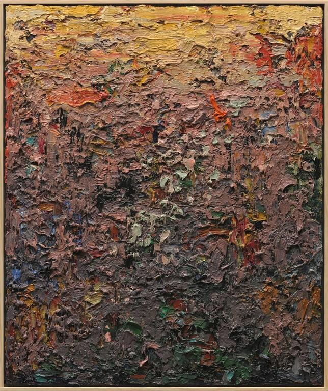 Charles Eckart Abstract Painting - Paintscape No. 9