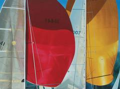 Red and Yellow Spinnaker