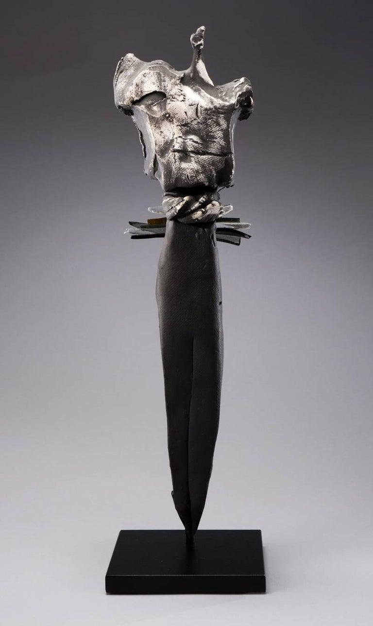 Nancy Legge Figurative Sculpture - Nori (Japanese, Tradition)