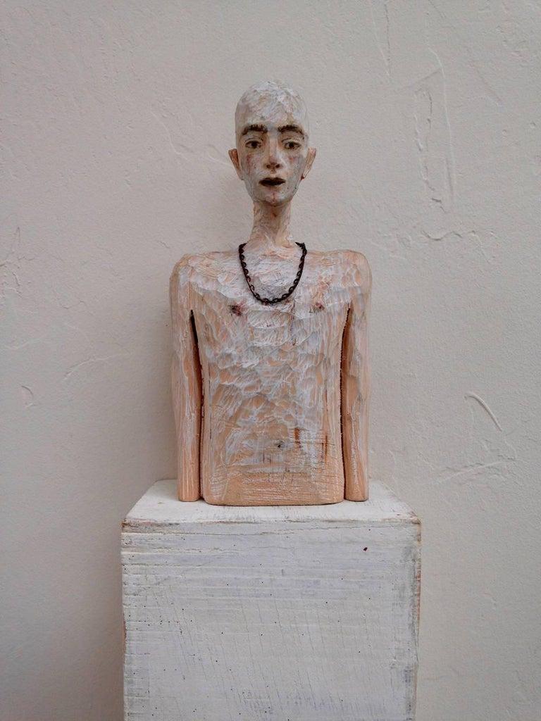 Joe Brubaker Figurative Sculpture - Daniel