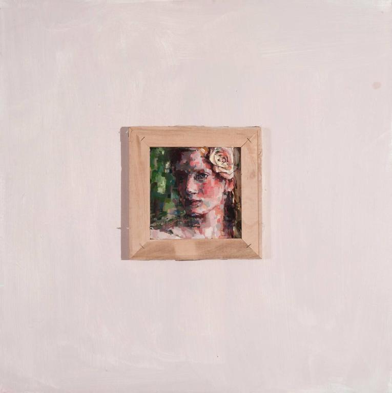 Devorah Jacoby Portrait Painting - Forest