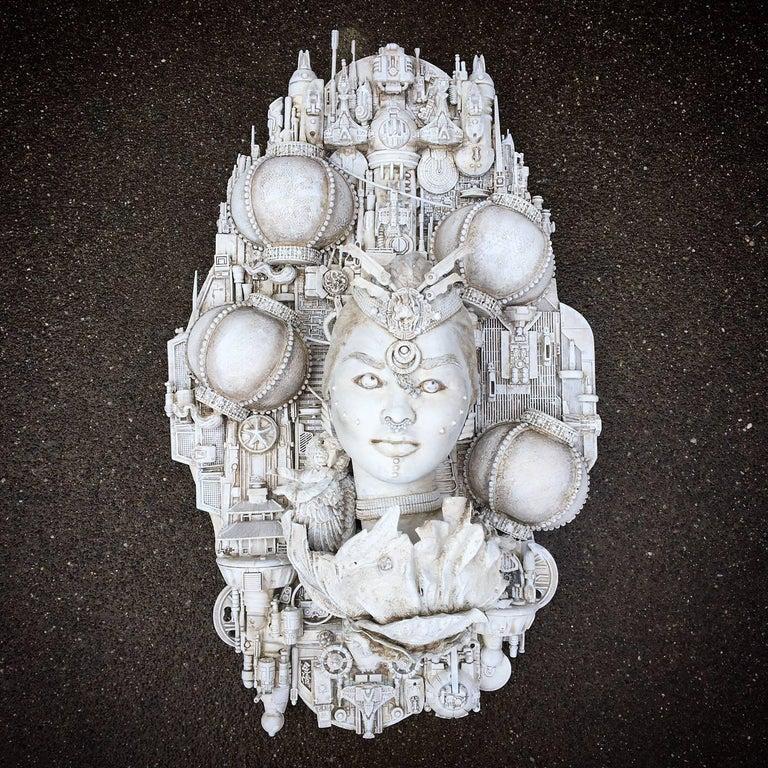 Lisa Clarke Figurative Sculpture - Twice as Bright