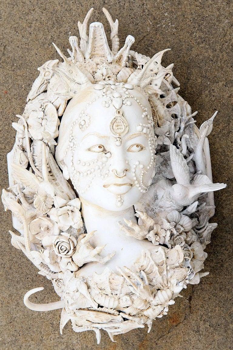 Lisa Clarke Figurative Sculpture - Ask Again Later