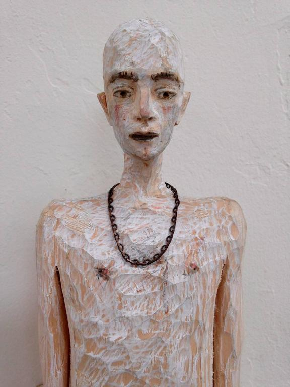Daniel - Sculpture by Joe Brubaker