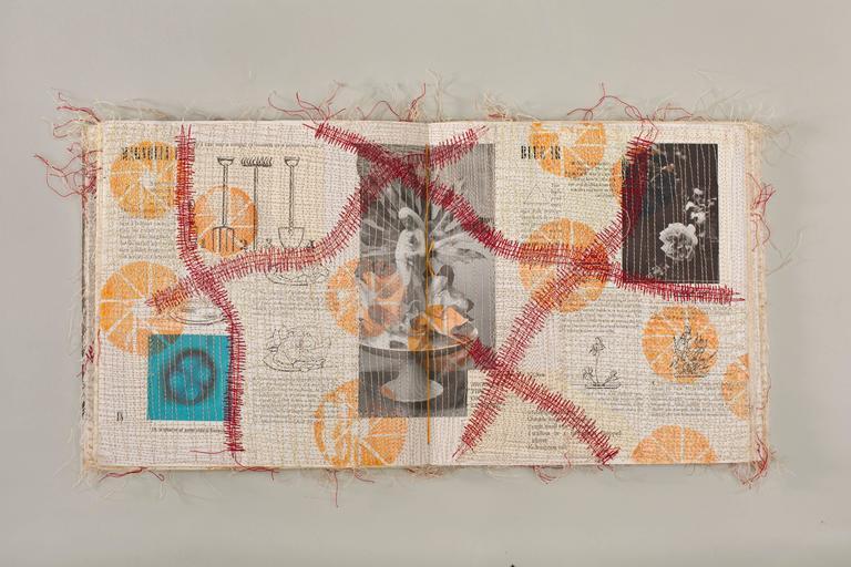 Frankenboro Book, No.2 - Contemporary Mixed Media Art by Jody Alexander