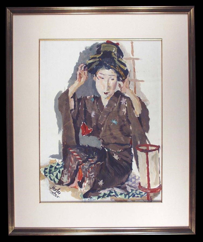 Seated Geisha