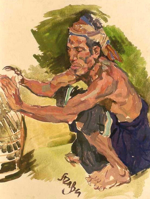 Balinese Cockfighter