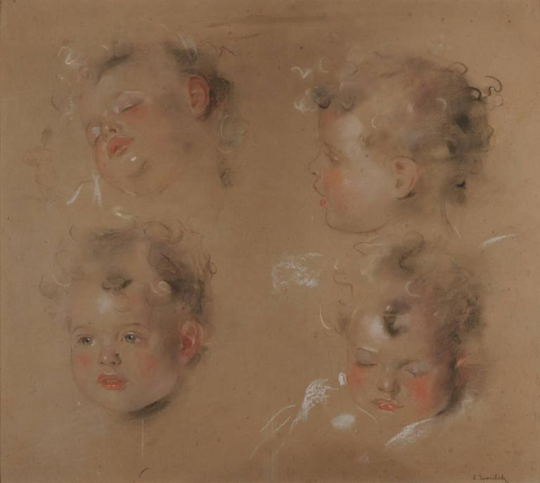 Study for a Child's Portrait