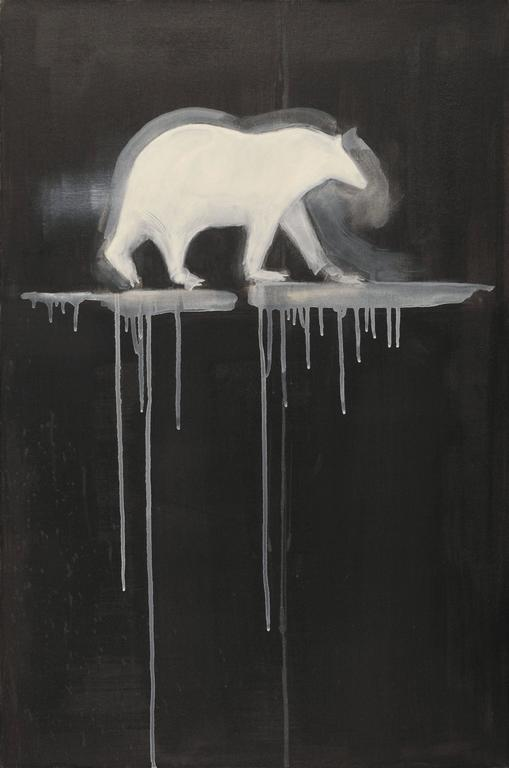 Susan Brearey Animal Painting - Arctic Ice