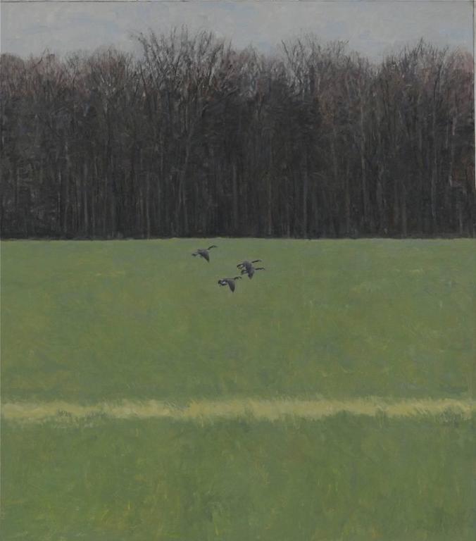 Ron Kingswood Animal Painting - Daybreak