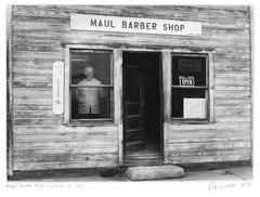 Maul Barbershop, Calhan, CO, 1/7, 1977